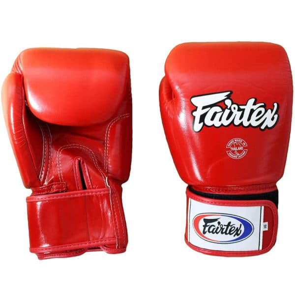 Fairtex boxhandschoenen BGV1 Tight Fit Rood