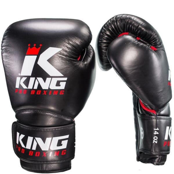 King Pro Bokshandschoenen Star Red Mesh
