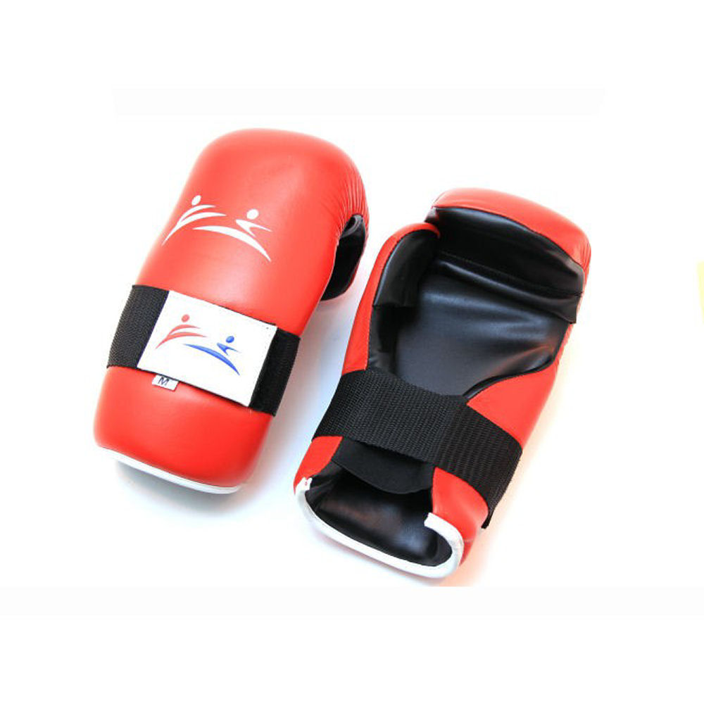 Safety Punch Leer Rood