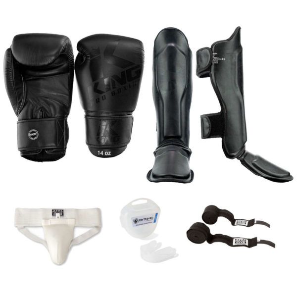 Kickboks Set King Pro Black-on-Black