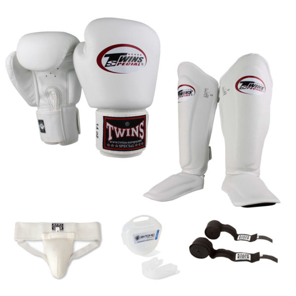 Twins Kickbox Set Wit