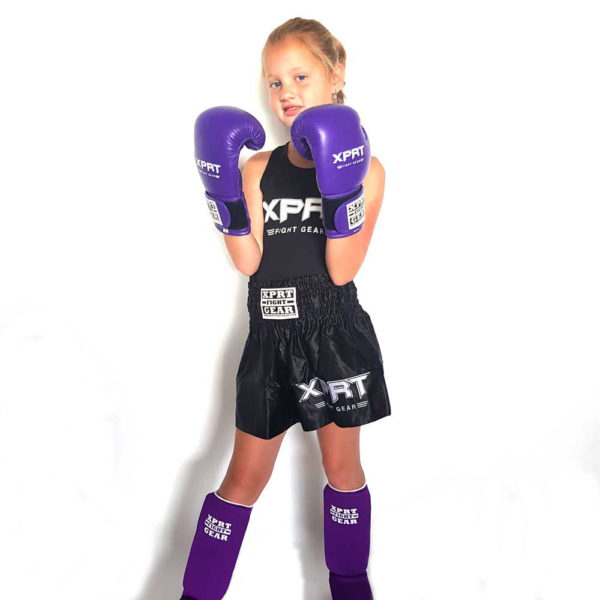 Kickbox set paars