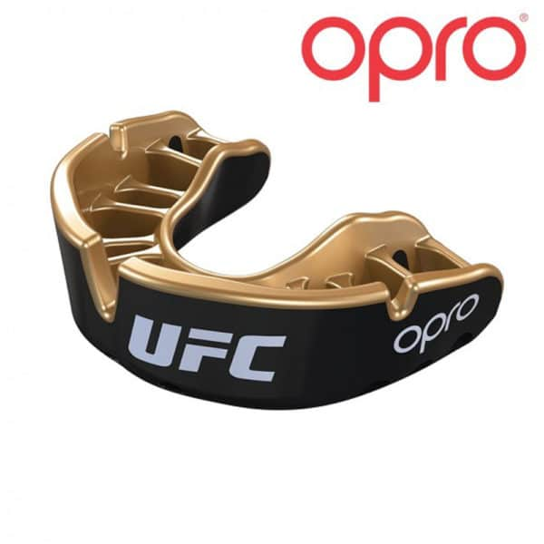 OPRO bitje Gold Black Metal/Gold
