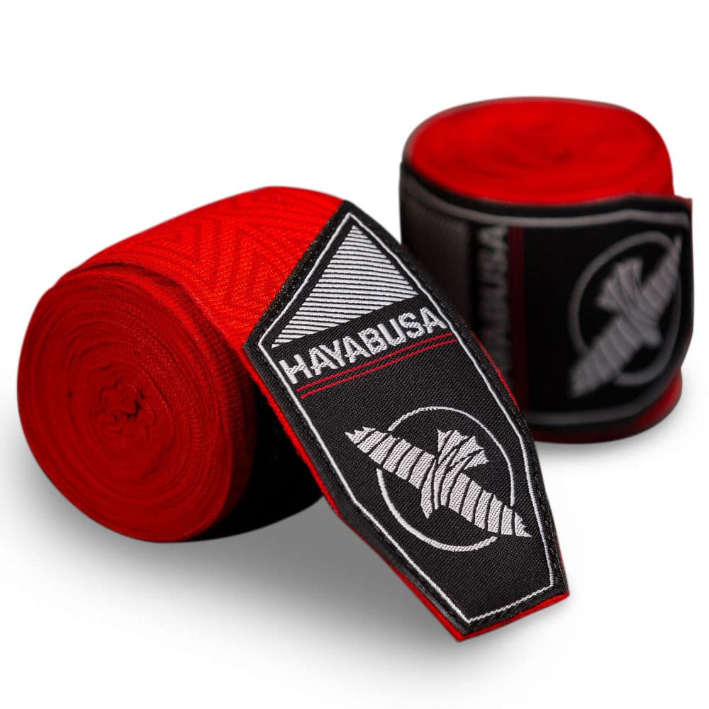 Hayabusa Bandages Perfect Stretch - Red Tribal