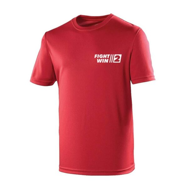 Neoteric ™ sportshirt Fight2Win Rood