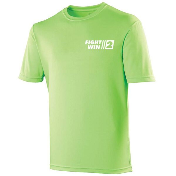 Neoteric ™ sportshirt Fight2Win Lime